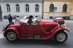 Uitstekende autoverzameling Stock Foto's