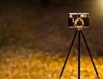 Uitstekende backlit camera Royalty-vrije Stock Fotografie