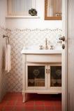 Uitstekende badkamers royalty-vrije stock afbeeldingen