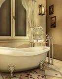 Uitstekende badkuip royalty-vrije illustratie