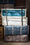 Uitstekende bagage Royalty-vrije Stock Afbeelding