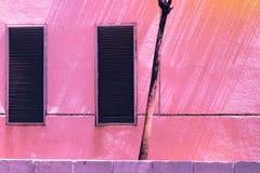Uitstekende baksteen en steenpastelkleur creatief textuur en geklets stock fotografie