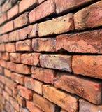 Uitstekende bakstenen muurachtergrond royalty-vrije stock foto's