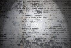 Uitstekende bakstenen muurachtergrond en texturen Stock Afbeelding
