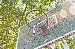 Uitstekende Basketbalmand Royalty-vrije Stock Afbeelding