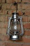 Uitstekende benzinelamp Stock Afbeelding