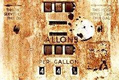 Uitstekende Benzinepomp royalty-vrije stock foto