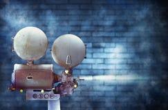 Uitstekende bioskoopfilmprojector Stock Fotografie