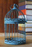 Uitstekende Birdcage Royalty-vrije Stock Afbeelding