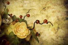 Uitstekende bloem Royalty-vrije Stock Fotografie