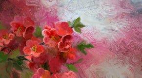 Uitstekende bloem Royalty-vrije Stock Afbeeldingen