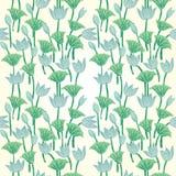 Uitstekende bloemen naadloze patroon Vector Naadloze textuur met bloemen Eindeloos bloemenpatroon Royalty-vrije Stock Foto