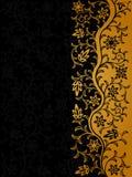 Uitstekende bloemenachtergrond Stock Afbeelding