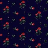 Uitstekende bloemenachtergrond royalty-vrije illustratie