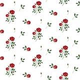 Uitstekende bloemenachtergrond stock illustratie