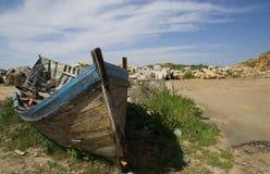 Uitstekende boot Stock Foto's