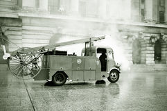 Uitstekende brandbrigade Stock Foto's