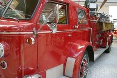 Uitstekende brandvrachtwagen Royalty-vrije Stock Afbeelding