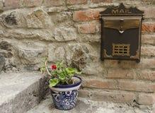 Uitstekende brievenbus Royalty-vrije Stock Afbeelding