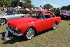 Uitstekende Britse sportwagen Royalty-vrije Stock Foto