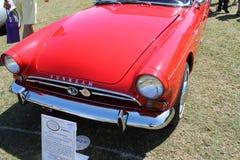 Uitstekende Britse sportwagenvoorzijde Royalty-vrije Stock Afbeelding