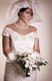 Uitstekende bruid stock afbeelding