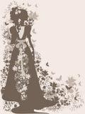 Uitstekende bruid Royalty-vrije Stock Afbeelding