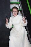 Uitstekende bruid Royalty-vrije Stock Foto's