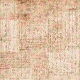 Uitstekende bruine en roze grungy langzaam verdwenen Sjofele elegante abstracte bloemenachtergrond stock illustratie