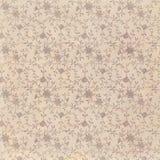 Uitstekende bruine grungy langzaam verdwenen Sjofele elegante abstracte bloemenachtergrond stock illustratie