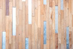 Uitstekende bruine houten materiële textuur en achtergrond Stock Fotografie