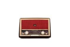 Uitstekende bruine radio Royalty-vrije Stock Afbeeldingen