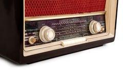 Uitstekende bruine radio Royalty-vrije Stock Foto's