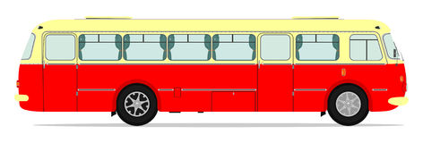 Uitstekende Bus Stock Afbeeldingen
