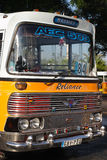 Uitstekende bussen Valletta Malta stock fotografie