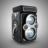 Uitstekende camera vector illustratie