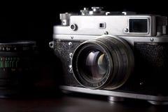 Uitstekende Camera SLR Royalty-vrije Stock Foto