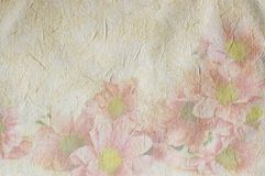 Uitstekende canvasachtergrond Royalty-vrije Stock Afbeeldingen