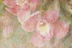 Uitstekende canvasachtergrond Royalty-vrije Stock Foto's