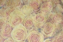 Uitstekende canvasachtergrond Stock Foto