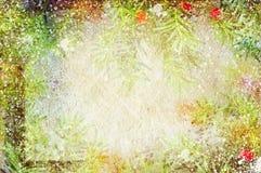 Uitstekende canvasachtergrond Royalty-vrije Stock Afbeelding
