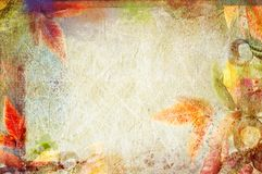 Uitstekende canvasachtergrond Stock Fotografie