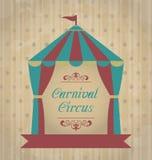 Uitstekende Carnaval-affiche voor uw reclame stock illustratie