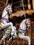 Uitstekende carrousel 1 Stock Fotografie