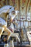 Uitstekende carrousel Royalty-vrije Stock Afbeeldingen