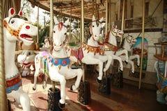 Uitstekende carrouselrit Royalty-vrije Stock Foto's