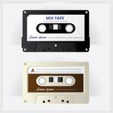 Uitstekende cassetteband Stock Afbeelding