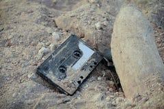 Uitstekende Cassetteband Stock Fotografie