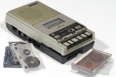 Uitstekende cassettebandrecorder Royalty-vrije Stock Afbeeldingen