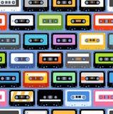 Uitstekende cassettes Stock Afbeelding